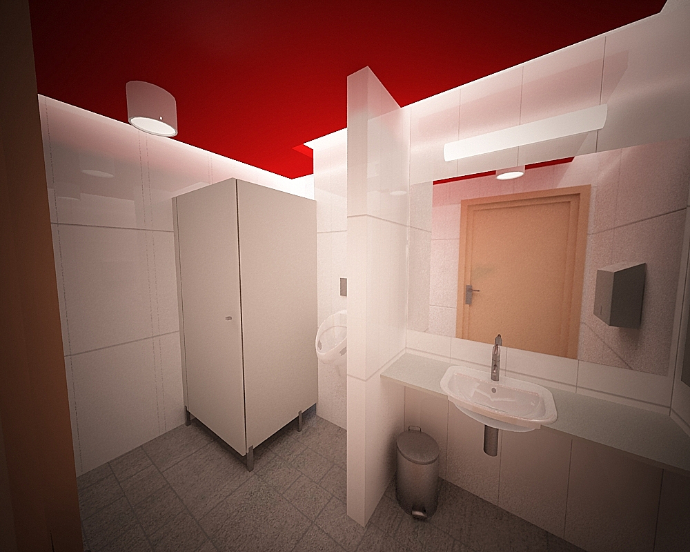 toaleta w biurowcu