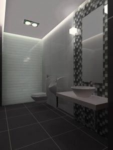 Toaleta w biurze