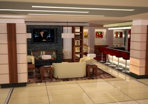 Foyer w hotelu